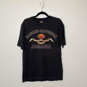Harley-Davidson Live to ride Jamaica T-shirt sz L